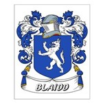 Blaidd Coat of Arms Small Poster