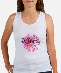 Buffalovely Gerber Daisy Women's Tank Top