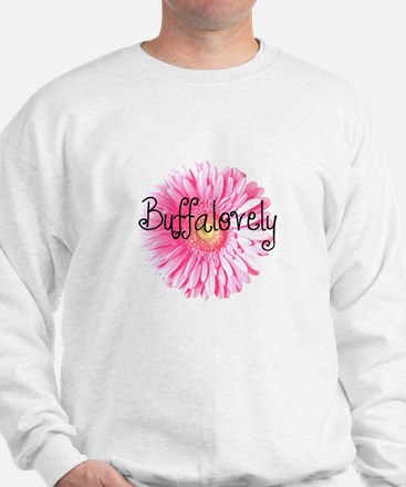 Buffalovely Gerber Daisy Sweatshirt