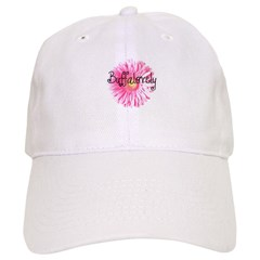 Buffalovely Gerber Daisy Baseball Cap