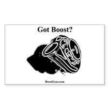 Got Boost? Turbo - Rectangle Sticker BoostGear