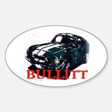 ULTIMATE CAR CHASE #2 Oval Decal