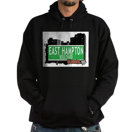 EAST HAMPTON BOULEVARD, QUEENS, NYC Hoodie (dark)