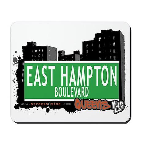 EAST HAMPTON BOULEVARD, QUEENS, NYC Mousepad