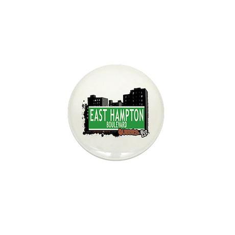 EAST HAMPTON BOULEVARD, QUEENS, NYC Mini Button (1