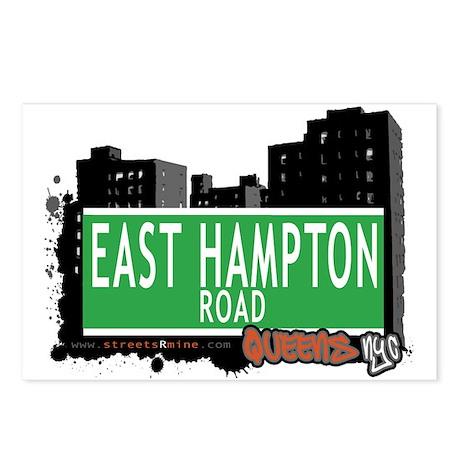 EAST HAMPTON ROAD, QUEENS, NYC Postcards (Package