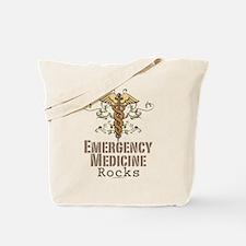 Emergency Medicine Rocks ER Doc Tote Bag