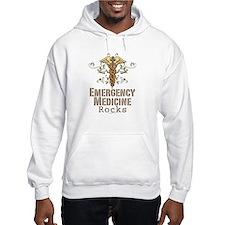 Emergency Medicine Rocks ER Doc Hoodie