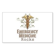 Emergency Medicine Rocks ER Doc Decal