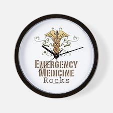 Emergency Medicine Rocks ER Doc Wall Clock