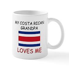 My Costa Rican Grandpa Loves Me Mug