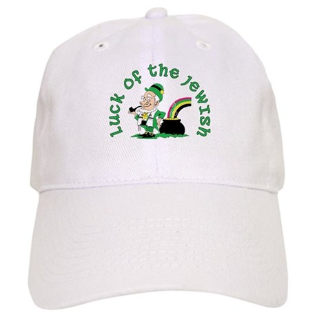 Luck of the Jewish Leprechaun Cap