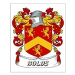 Bolds Coat of Arms Small Poster