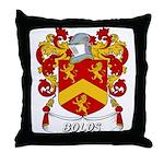 Bolds Coat of Arms Throw Pillow
