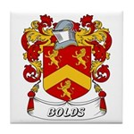 Bolds Coat of Arms Tile Coaster