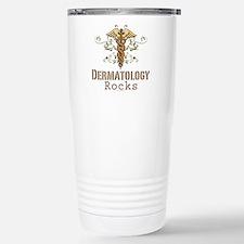 Dermatology Rocks Caduceus Travel Mug