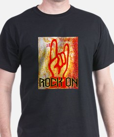 ROCK ON - RED T-Shirt