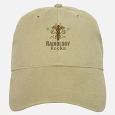 Radiology Rocks Caduceus Baseball Baseball Cap