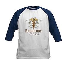 Radiology Rocks Caduceus Tee
