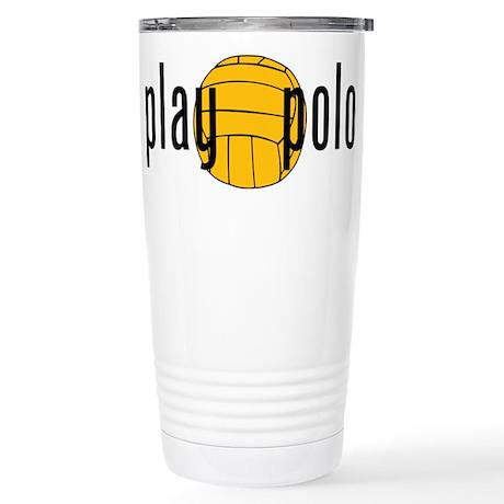 play polo Stainless Steel Travel Mug