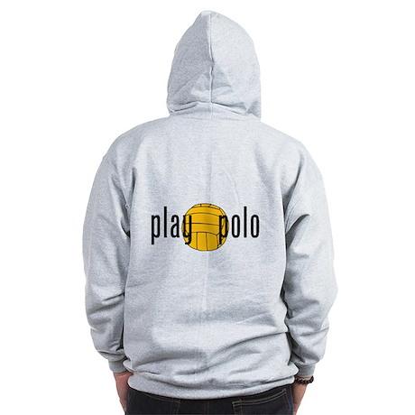 play polo Zip Hoodie