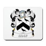 Bran Coat of Arms Mousepad