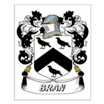 Bran Coat of Arms Small Poster