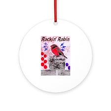 ROCKIN' ROBIN Ornament (Round)