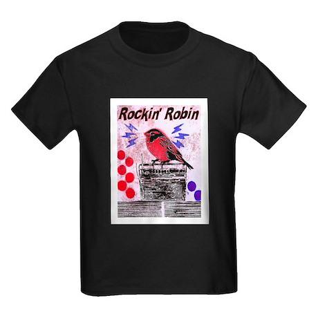 ROCKIN' ROBIN Kids Dark T-Shirt