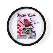 ROCKIN' ROBIN Wall Clock