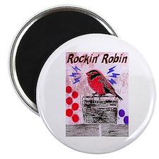 ROCKIN' ROBIN Magnet
