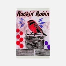 ROCKIN' ROBIN Rectangle Magnet