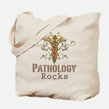 Pathology Rocks Caduceus Tote Bag