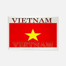 Vietnam Vietnamese Flag Rectangle Magnet