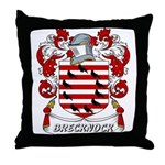 Brecknock Coat of Arms Throw Pillow