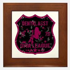 Dental Asst Diva League Framed Tile