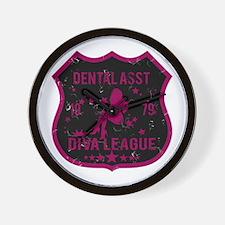 Dental Asst Diva League Wall Clock