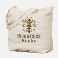 Pediatrics Rocks Caduceus Tote Bag