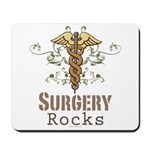 Surgery Rocks Caduceus Mousepad