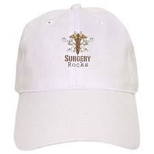 Surgery Rocks Caduceus Baseball Cap