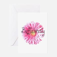 Buffalovely Gerber Daisy Greeting Card