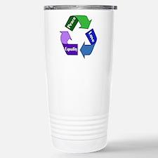 Peace Love Equality Travel Mug