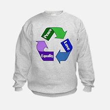 Peace Love Equality Sweatshirt