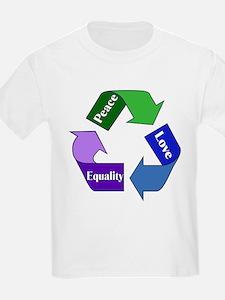 Peace Love Equality T-Shirt