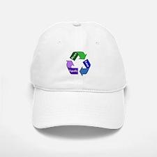 Peace Love Equality Baseball Baseball Cap