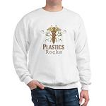 Plastics Rocks Caduceus Sweatshirt
