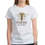 Plastics Rocks Caduceus Women's T-Shirt