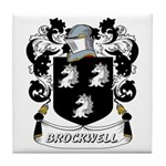Brockwell Coat of Arms Tile Coaster