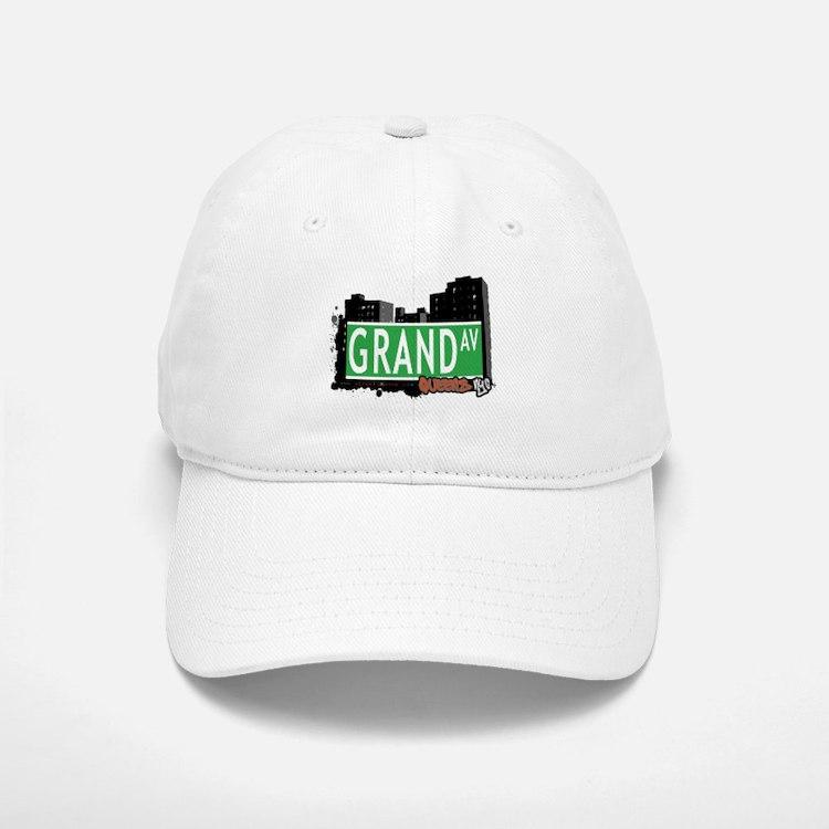 GRAND AVENUE, QUEENS, NYC Baseball Baseball Cap