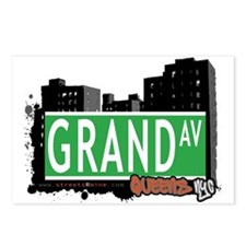 GRAND AVENUE, QUEENS, NYC Postcards (Package of 8)